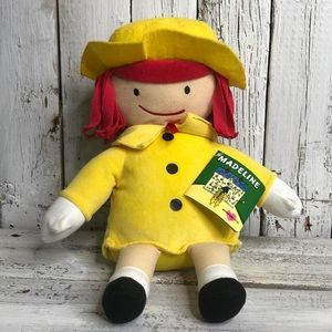 NWT! Madeline Plush Doll